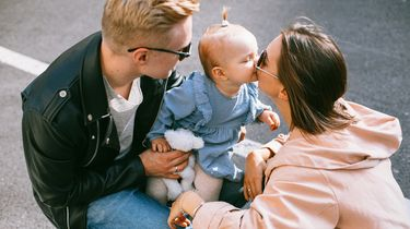 favoriet kind / ouders met dochter