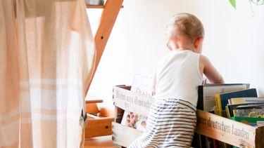 kinderkamer opruimen