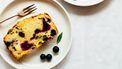citroencake met bessen uit eigen moestuin