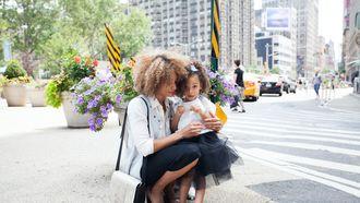 De stylisch Schoolpleinmoeder die er altijd op en top uitziet