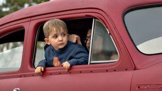 kindje zit niet in een autozitje