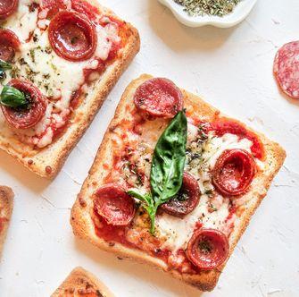 pizza toast van Winnie Verschijnsel