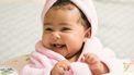 Baby met Engelse meisjesnaam
