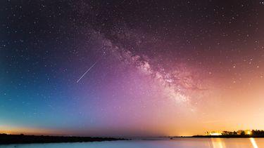 lucht met sterren