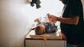Verder die volgens de 10 geboden de baby verschoont