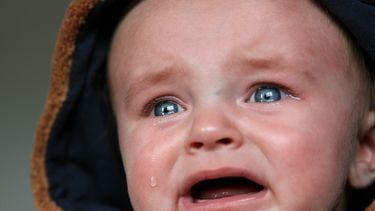Baby met emotie
