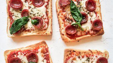 pizza toasts voor kinderen