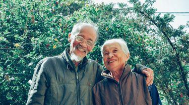 Opa en oma met leuke koosnaampjes