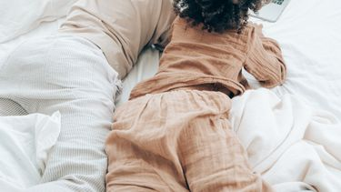 warme pyjama / kinderen in pyjama