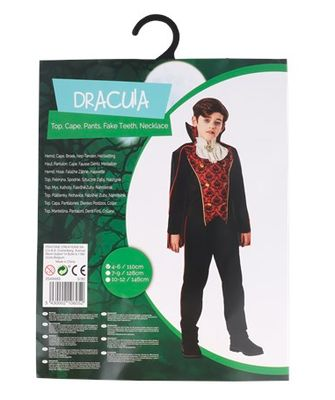 Halloween-outfit count dracula van de Action