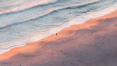 rustgevende kustlijn