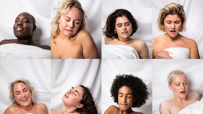 seks / vrouwen genieten van orgasme