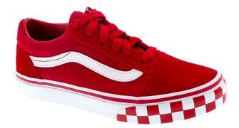 Rode Vans old school kindersneaker