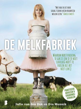 Cover van De Melkfabriek het boek van Sofie van den Enk