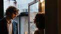 Man en vrouw die in karmische relatie zitten
