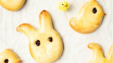 paasbroodjes voor kinderen