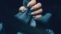 blauwe nagels kou