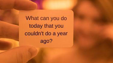 vraag op een kaartje