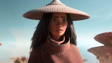 Film still van de nieuwe Disneyfilm Raya and the last dragon