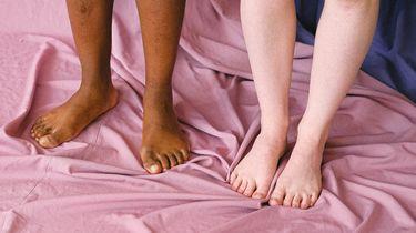 opgezwolle voeten