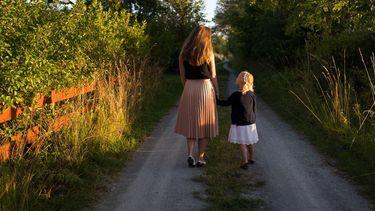 afke met dochter