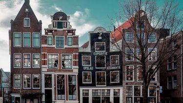 straat in amsterdam