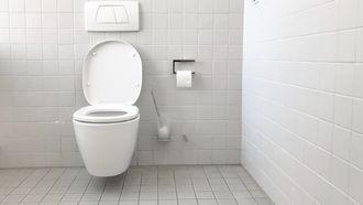 Een wc waarop zindelijkheidstrainig moet eindigen