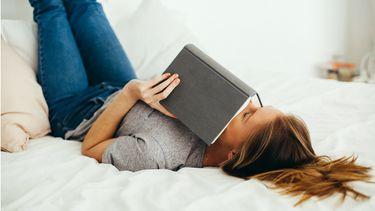 boeken lezen op bed
