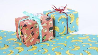 Cadeautips mannen / cadeautjes in vrolijk inpakpapier