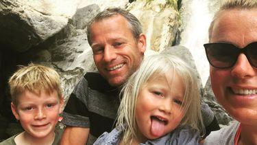 Sabine Samsom en haar gezin