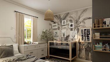 De babykamer inrichten moet veilig, praktisch en leuk zijn