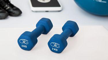 Gewichtjes waarmee je thuis fitness oefeningen kunt doen