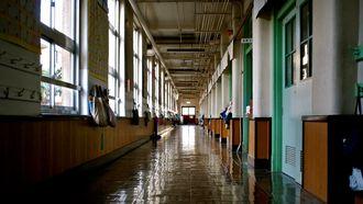 schoolgebouw van binnen