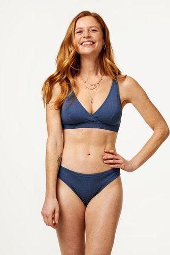 Blauwe bikini Hema
