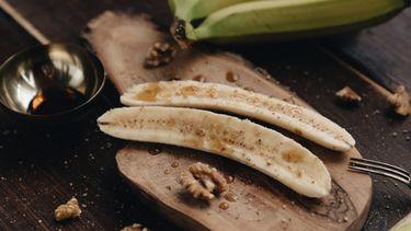 airfryer recept gekarameliseerde banaan