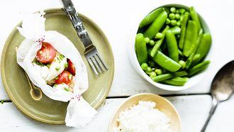 recept voor kinderen met groene groenten en kip