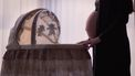 Zwangere vrouw met nesteldrang