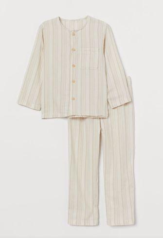 katoenen pyjama voor kinderen