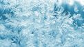 ijskristallen van de kou