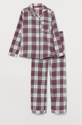 warme pyjama flanel