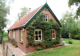 Huisje dat op het huis van de heks van Hans en Grietje lijkt