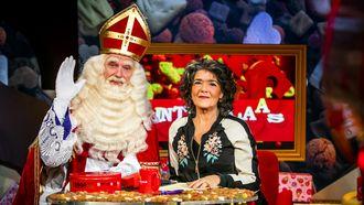 Het Sinterklaasjournaal met Sinterklaas en Dieuwertje Blok