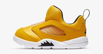 Nike Jordan 5 retro gouden sneakers voor kleuters